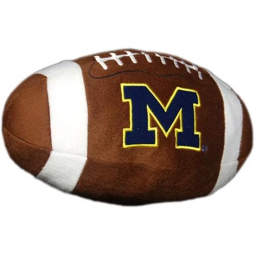 NCAA Michigan Wolverines Football Pillow  Walmartcom