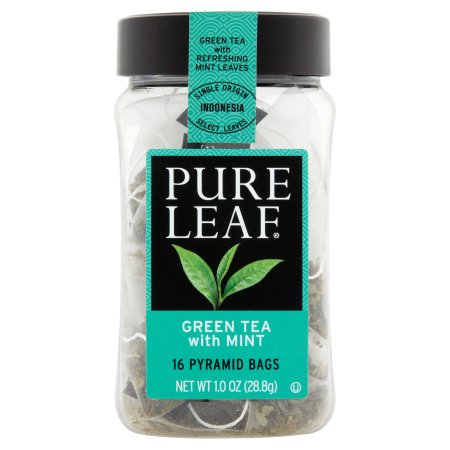 Image result for pure leaf green tea with mint