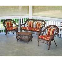 Sarasota Wicker Conversation Set - Walmart.com