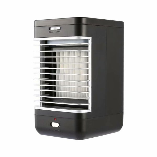 Victsing 110-240v Mini Air Conditioner Personal Evaporative Cooler Humidifier Desktop