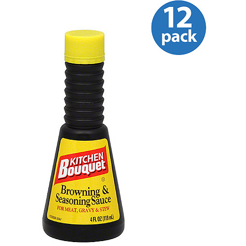 Kitchen Bouquet Browning  Seasoning Cooking Sauce 4 fl