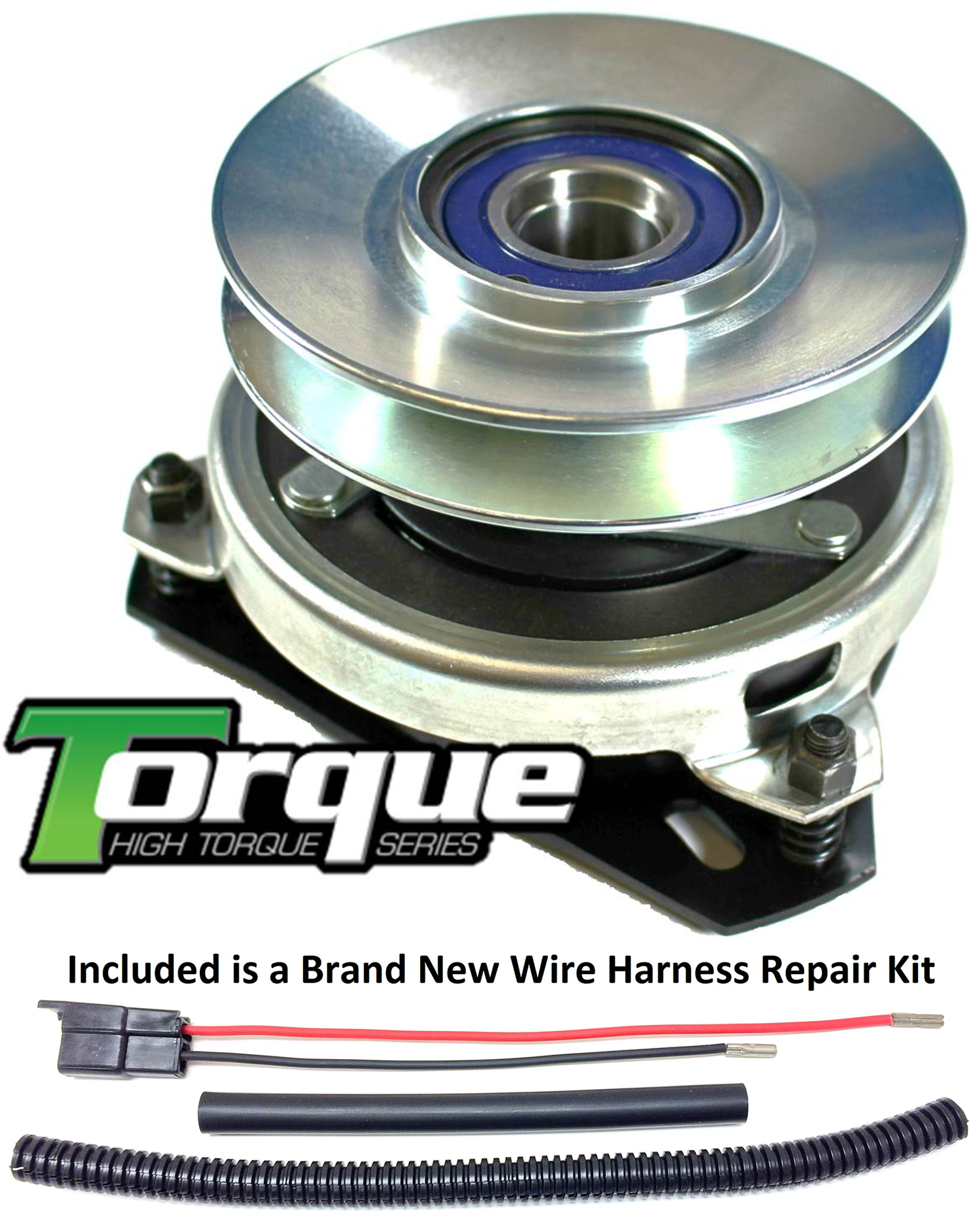hight resolution of bundle 2 items pto electric blade clutch wire harness repair kit replaces husqvarna 917170056 pto clutch bearing upgrade w wire repair kit