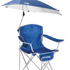 Sport Folding Chairs Lucite For Sale Brella Chair With Detachable Umbrella Blue Walmart Com