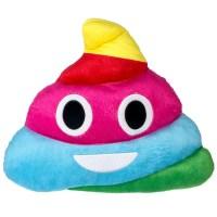 Emoji Expressions Rainbow Poop Pillow - Walmart.com