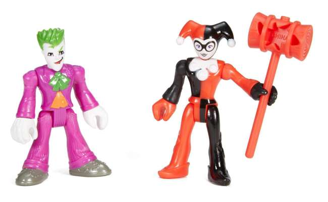 Imaginext Dc Super Friends The Joker And Harley Quinn