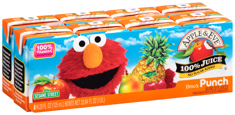 Apple Eve 100 Juice Sesame Street Elmo39s Punch 8423