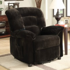 Walmart Living Room Chairs Candice Olson Furniture Coaster Company Power Lift Recliner, Chocolate - Walmart.com