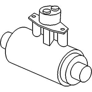 3477381M91 Brake Slave Cylinder Fits Massey Ferguson 340