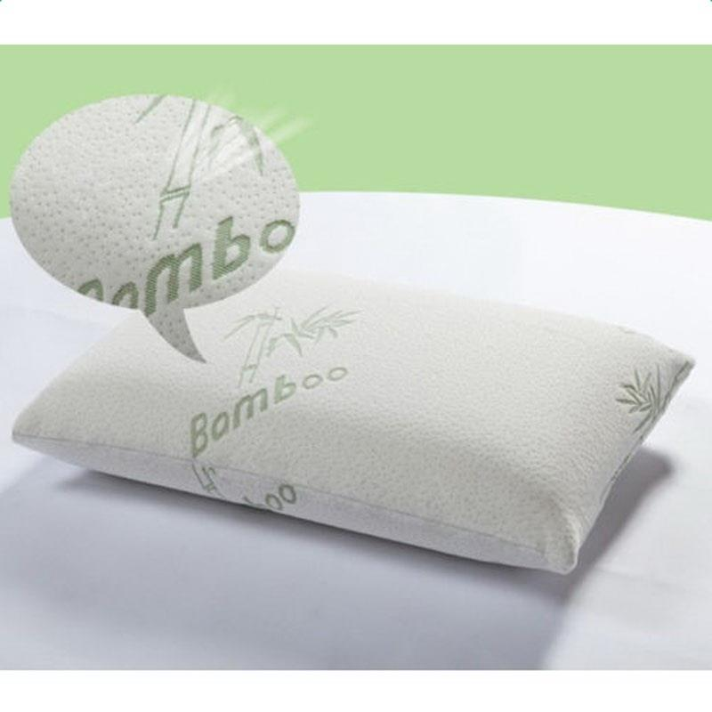 ktaxon soft bamboo memory foam pillow king size improved version hypoallergenic comfortable walmart com