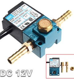 3 port dc 12v 5 4 w pressureswitche electronic boost control solenoid valve for ecu pwm 35a aaa ddba 1ba with brass fittings walmart com [ 1200 x 1200 Pixel ]