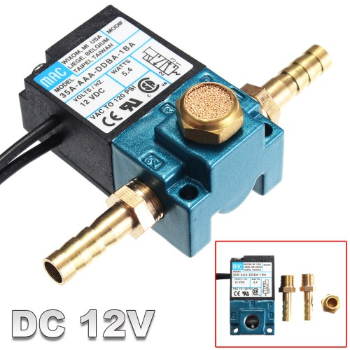 small resolution of 3 port dc 12v 5 4 w pressureswitche electronic boost control solenoid valve for ecu pwm 35a aaa ddba 1ba with brass fittings walmart com