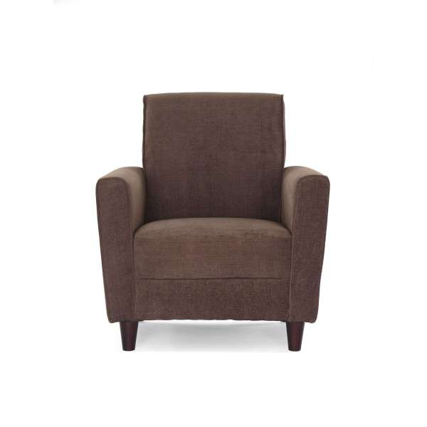 Dhi Enzo Arm Accent Chair Solid Woven Multiple Colors