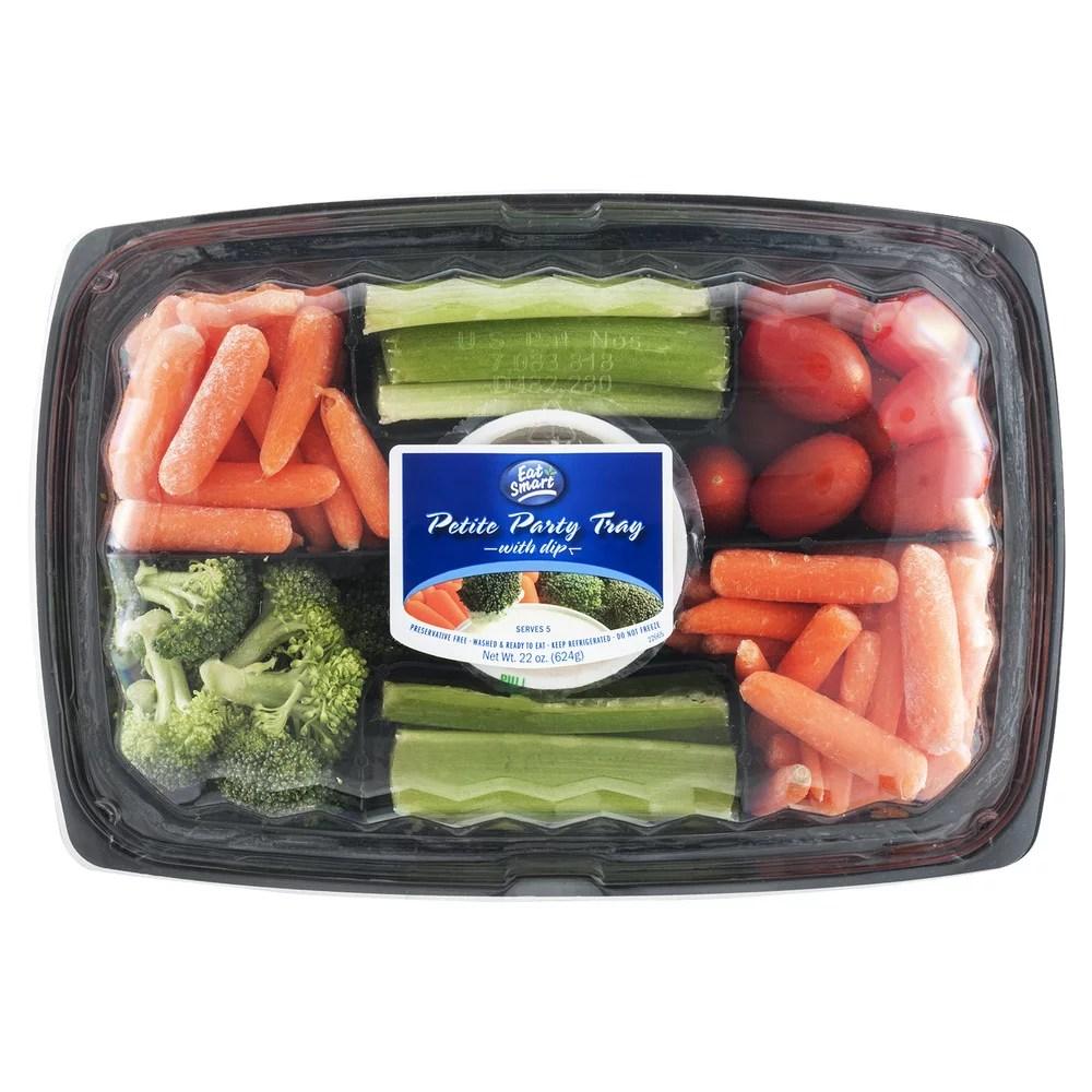 Eat Smart Petite Party Tray with Dip 220 OZ Walmartcom