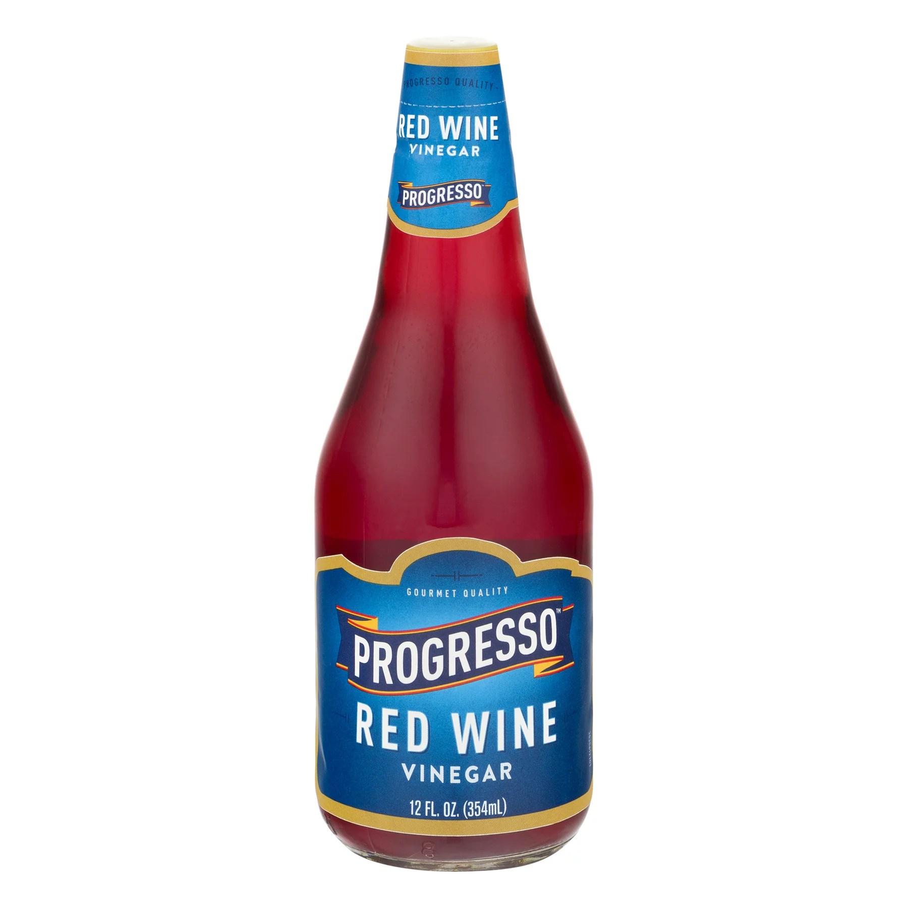 Progresso Vinegar Red Wine Decanter Vinegar 12 oz
