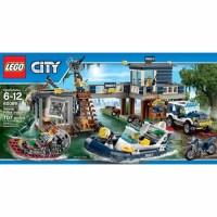 LEGO City Police Swamp Police Station - Walmart.com