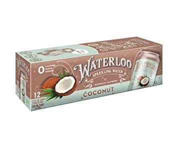 Waterloo Sparkling Water Coconut 8pk Walmart