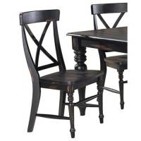 Imagio Home Roanoke X-Back Dining Side Chairs, Set of 2 ...