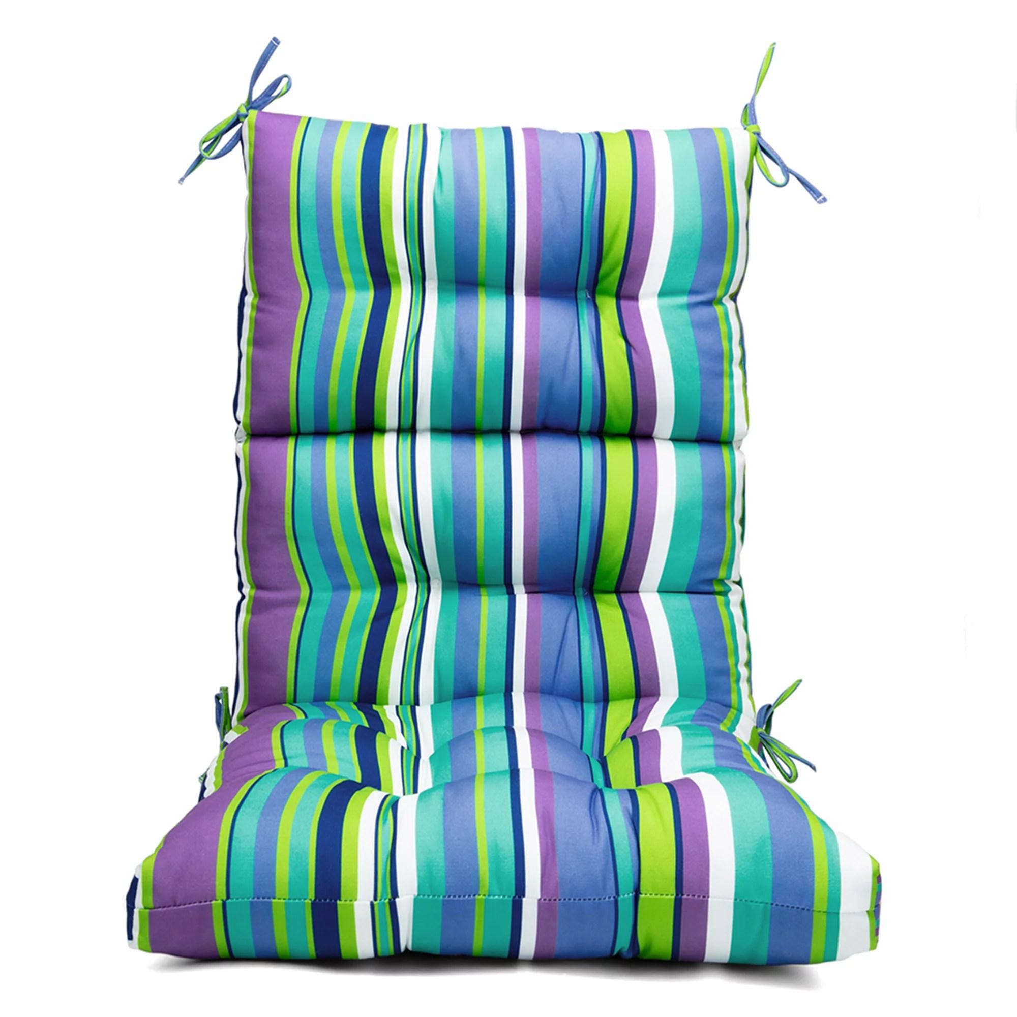 chair patio cushion chair pads patio high back lounger patio cushion seat back solid chair cushion high rebound foam rocking chair cushions