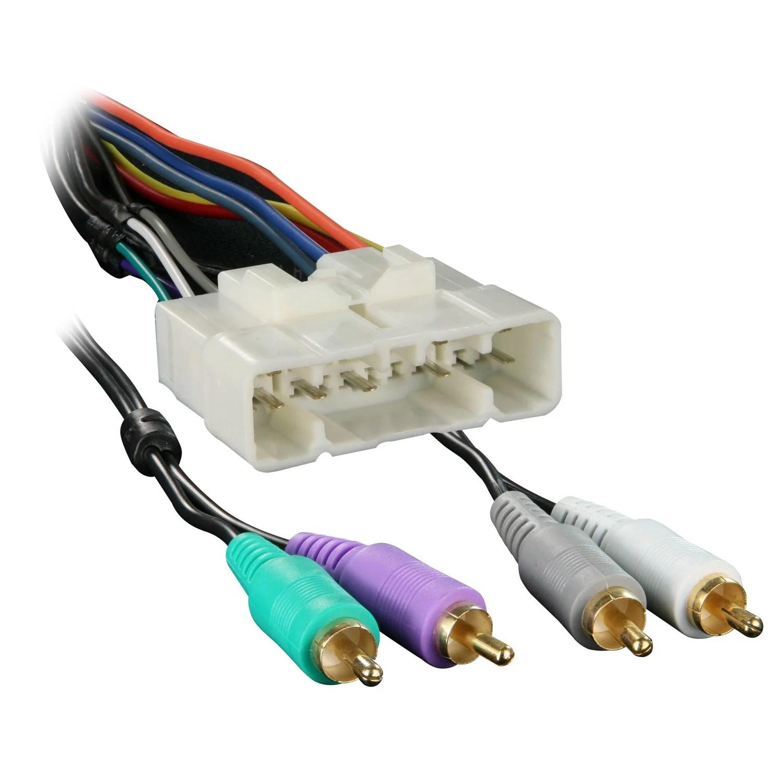 hight resolution of metra 70 7713 wiring harness for 2002 isuzu rodeo with factory amplifier walmart com