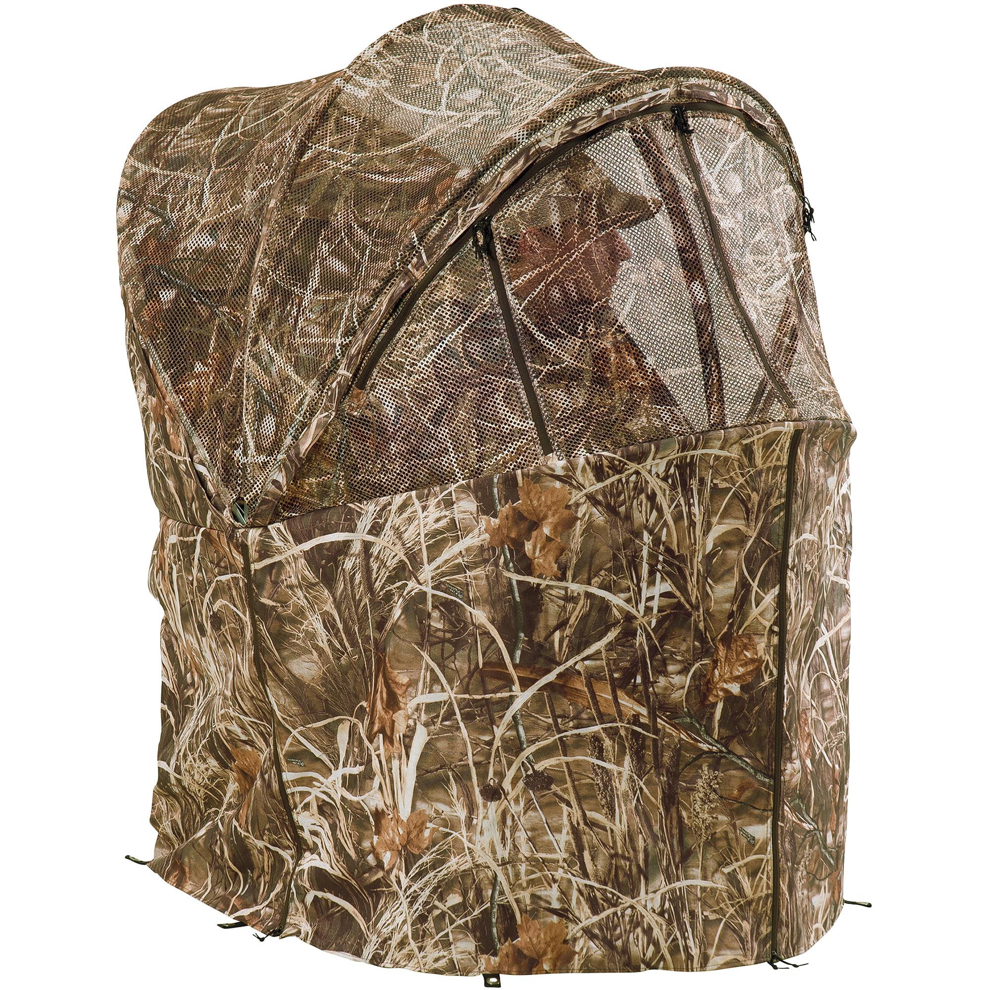 camo office chair hans wegner papa bear rapid-shooter tent blind, duck commander - walmart.com