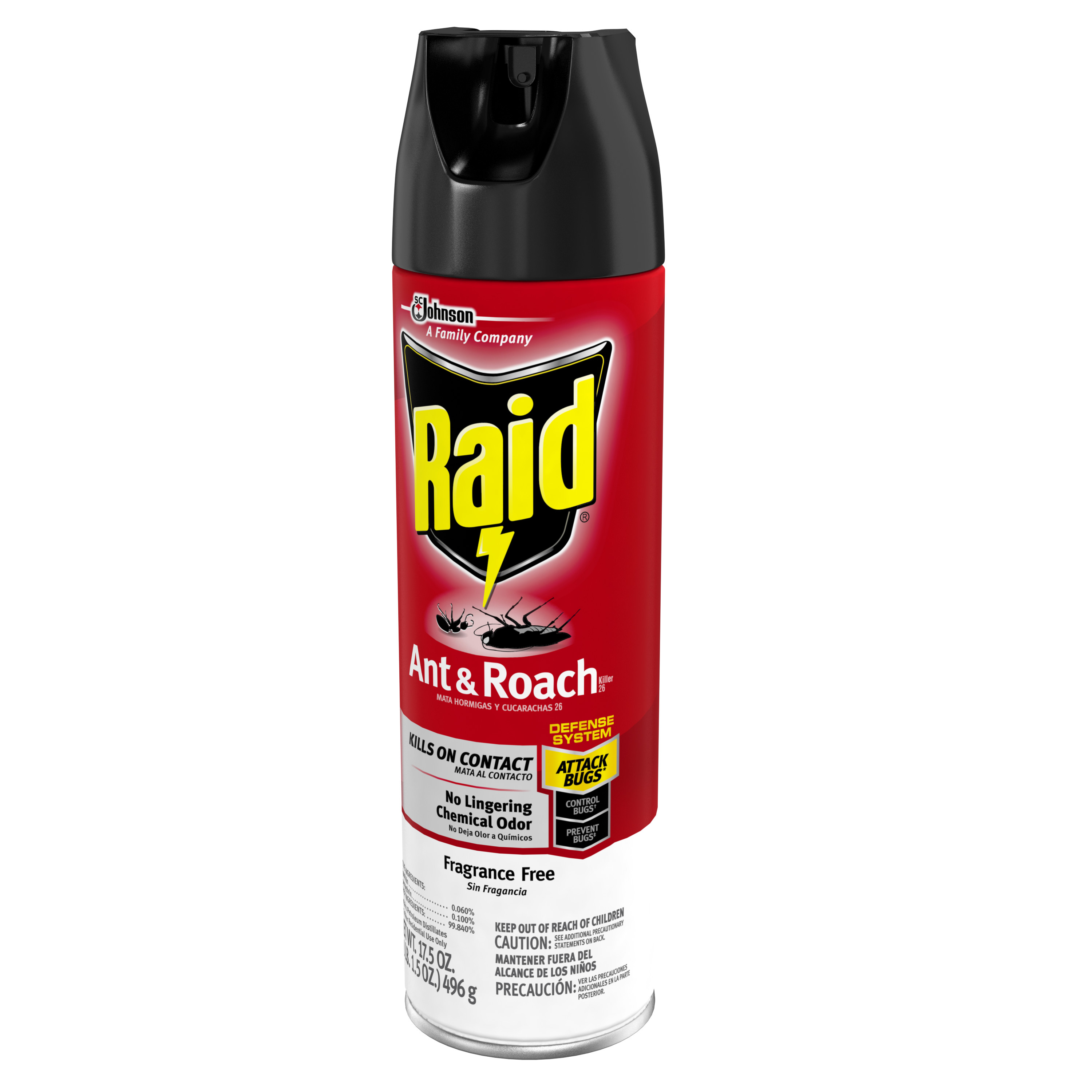 Raid Ant And Roach Aersol Unscented 175 oz Best Pest