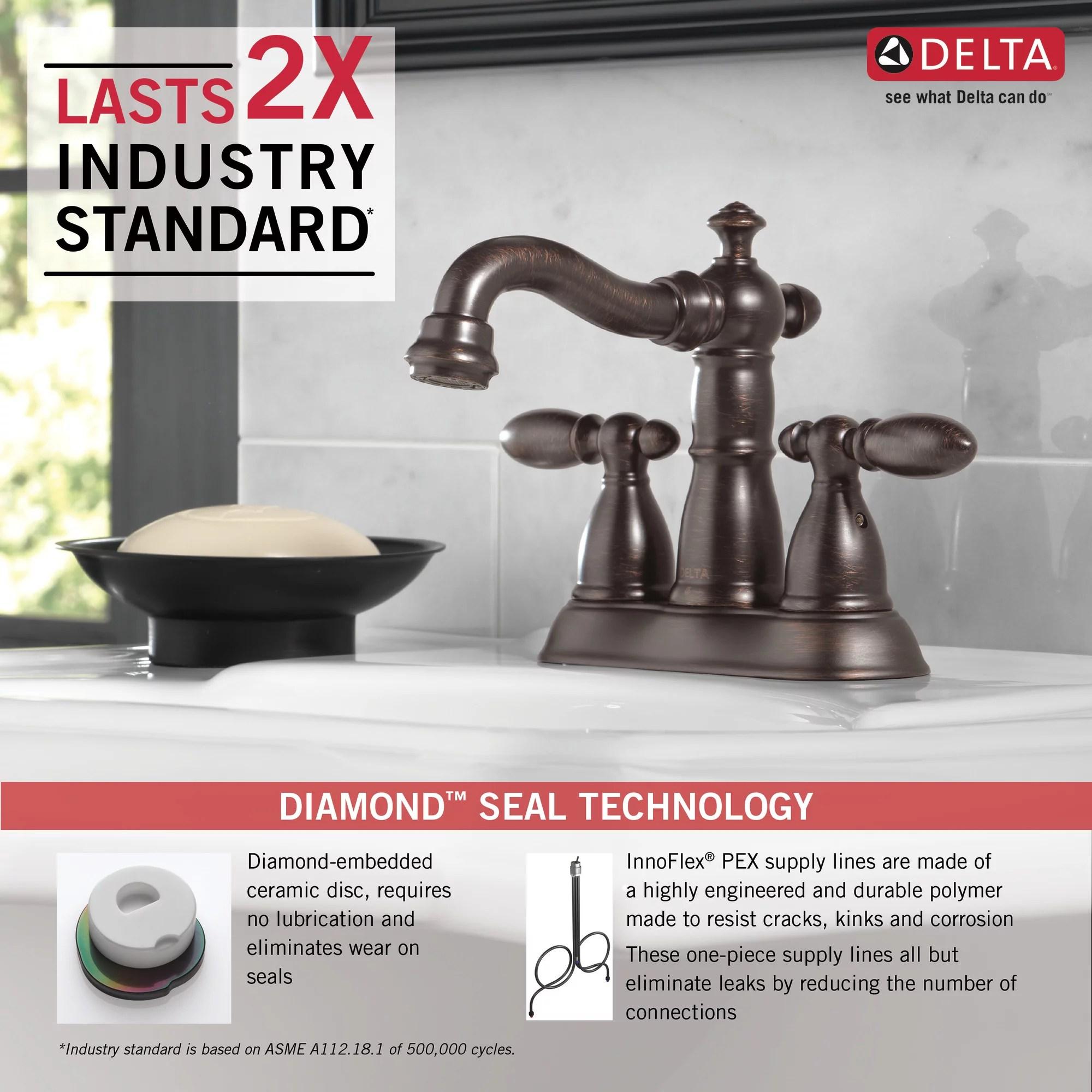 delta faucet victorian 2 handle