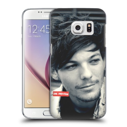 small resolution of official one direction louis photo filter hard back case for samsung phones 1