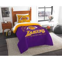 "NBA Los Angeles Lakers ""Reverse Slam"" Bedding Comforter ..."