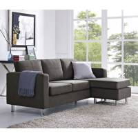 Small Spaces Configurable Sectional Sofa, Multiple Colors ...