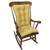 Gripper Jumbo Rocking Chair Cushions, Twill - Walmart.com