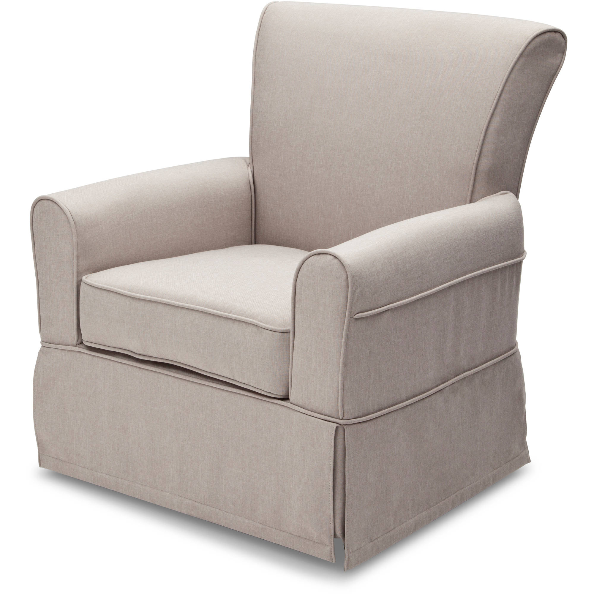 Storytime Chair Delta Children Epic Nursery Glider Swivel Rocker Chair Taupe