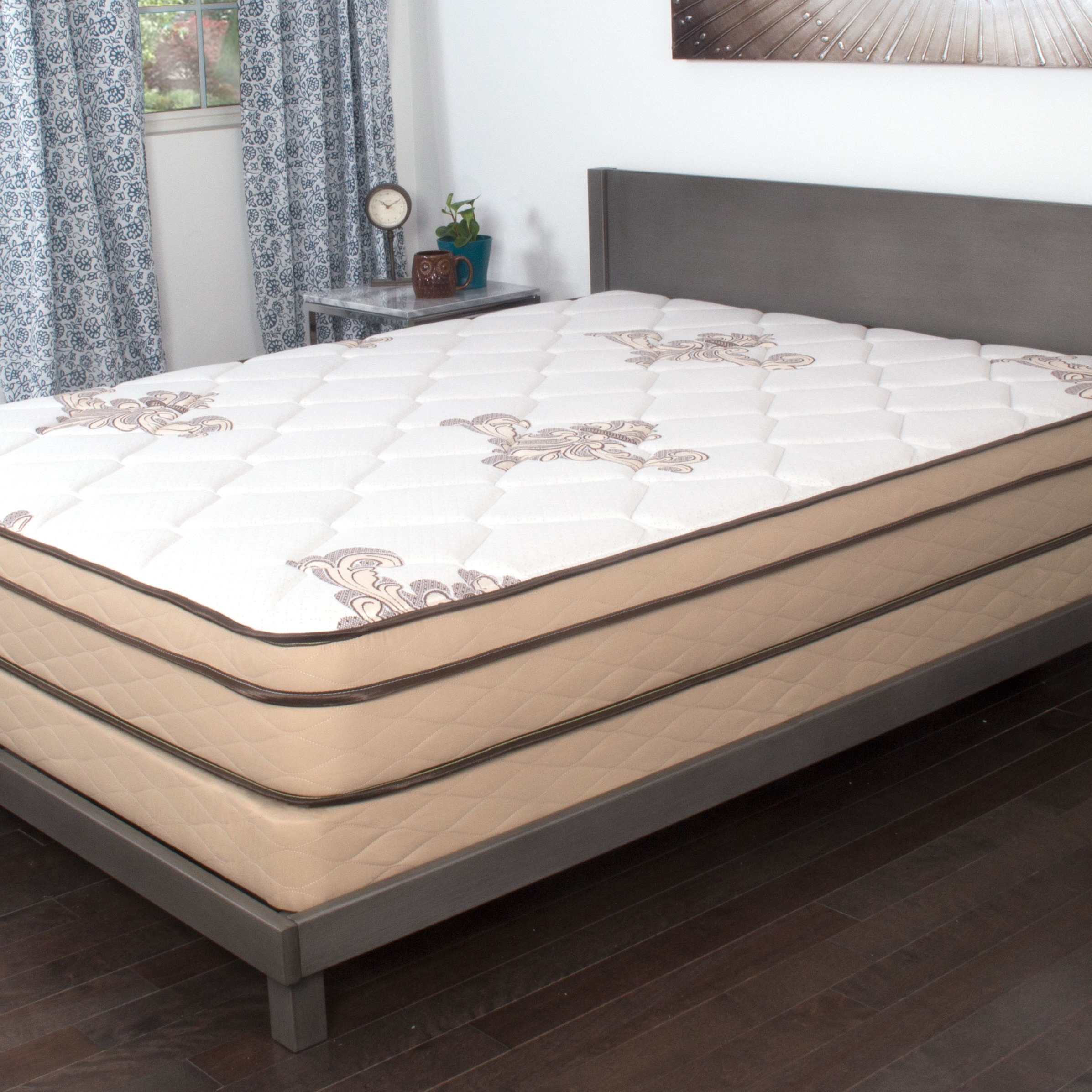 NuForm Quilted Euro Top 9-inch Twin XL-size Foam Mattress ...