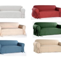 One Arm Sofa Slipcover Furniture Contemporary Solid Wood Set Cotton Dock Round For Loveseat And