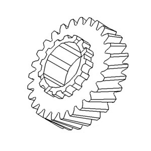70246531 New 2nd Gear Made to fit Allis Chalmers AC