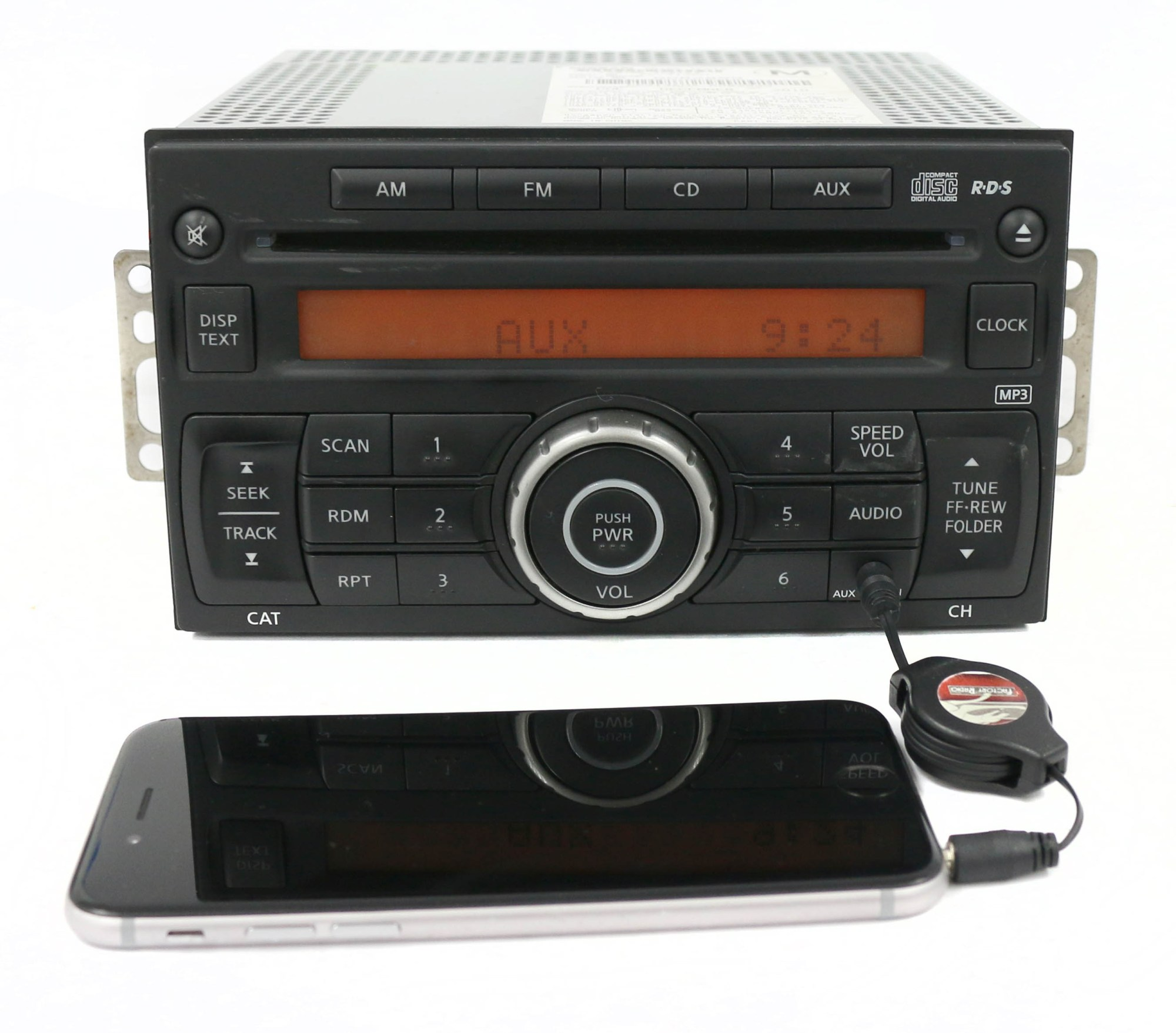 hight resolution of 2012 2017 nissan nv 1500 2500 3500 am fm radio single disc cd part 28185 1pa1a refurbished walmart com