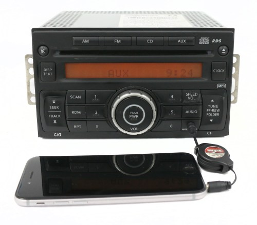 small resolution of 2012 2017 nissan nv 1500 2500 3500 am fm radio single disc cd part 28185 1pa1a refurbished walmart com