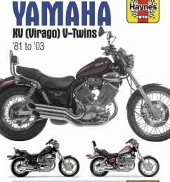 haynes manuals n amanual yam xv virago 81 00 m802 new [ 1173 x 1500 Pixel ]