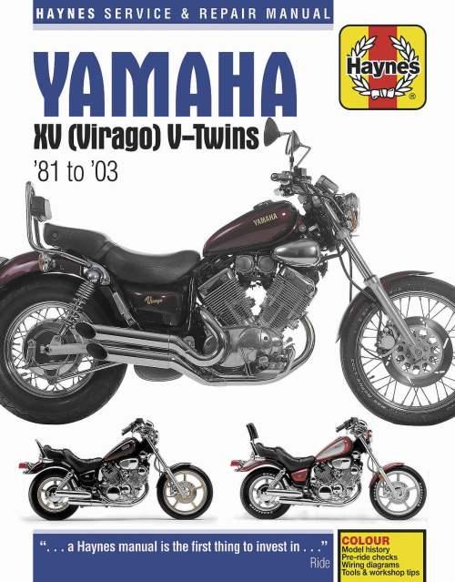 small resolution of haynes manuals n amanual yam xv virago 81 00 m802 new