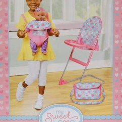 High Chair With Accessories Backpack Cooler My Sweet Love Set Walmart Com