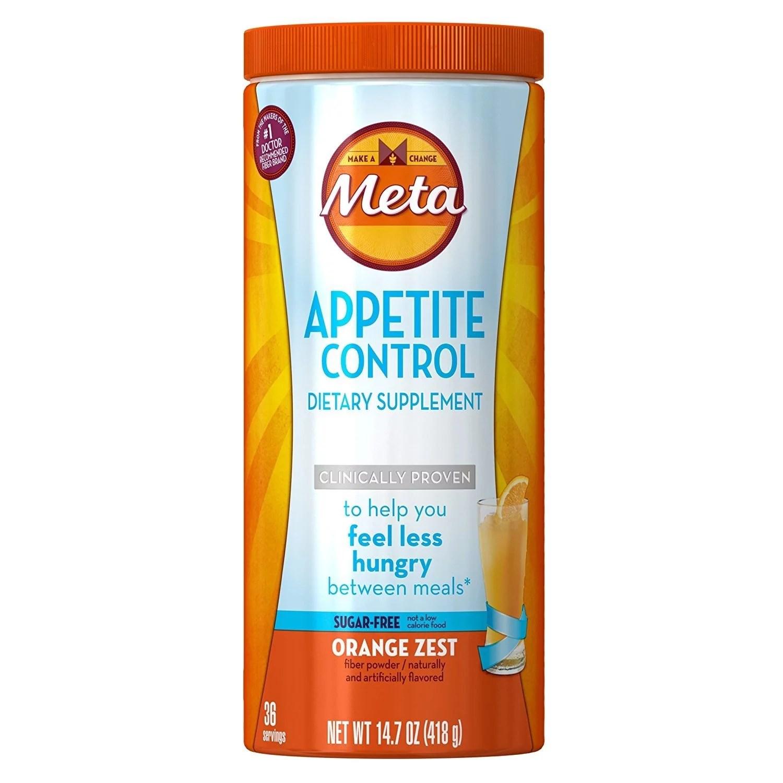 Metamucil Appetite Control Psyllium Fiber Sugar-Free ...