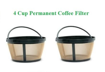 4Cup Basket Style Permanent Coffee Filters fits Mr