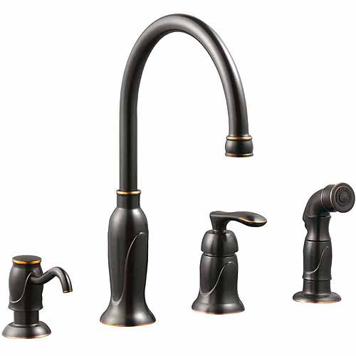Design House 525790 Madison Kitchen Faucet with Sprayer