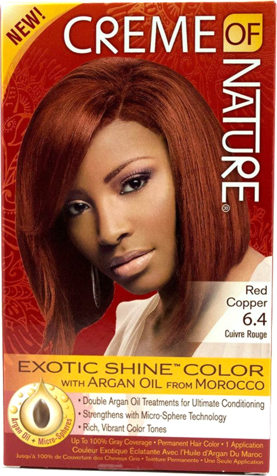 Creme Of Nature Permanent Hair Color Red Copper 64 10
