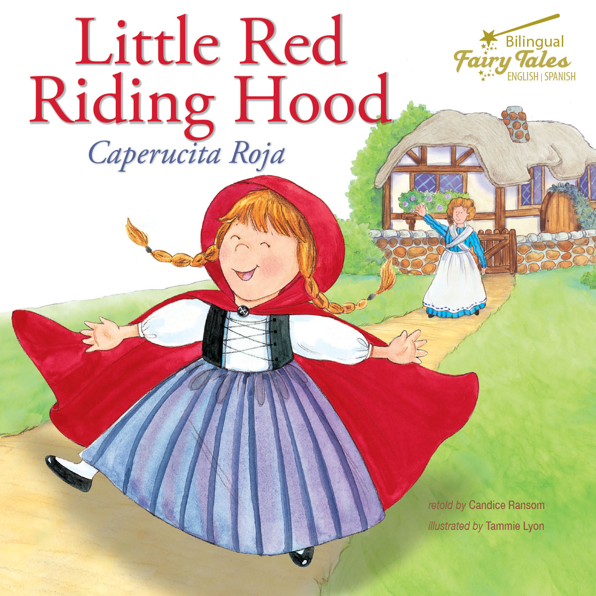 Bilingual Fairy Tales Little Red Riding Hood Grades 1
