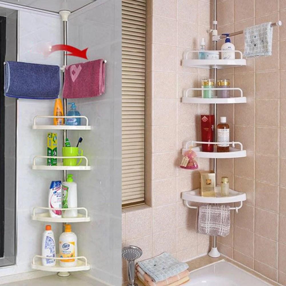 triangular bathroom corner shower shelf bathtub shower caddy holder shower suction soap sponge dish holder storage basket rack hanger for