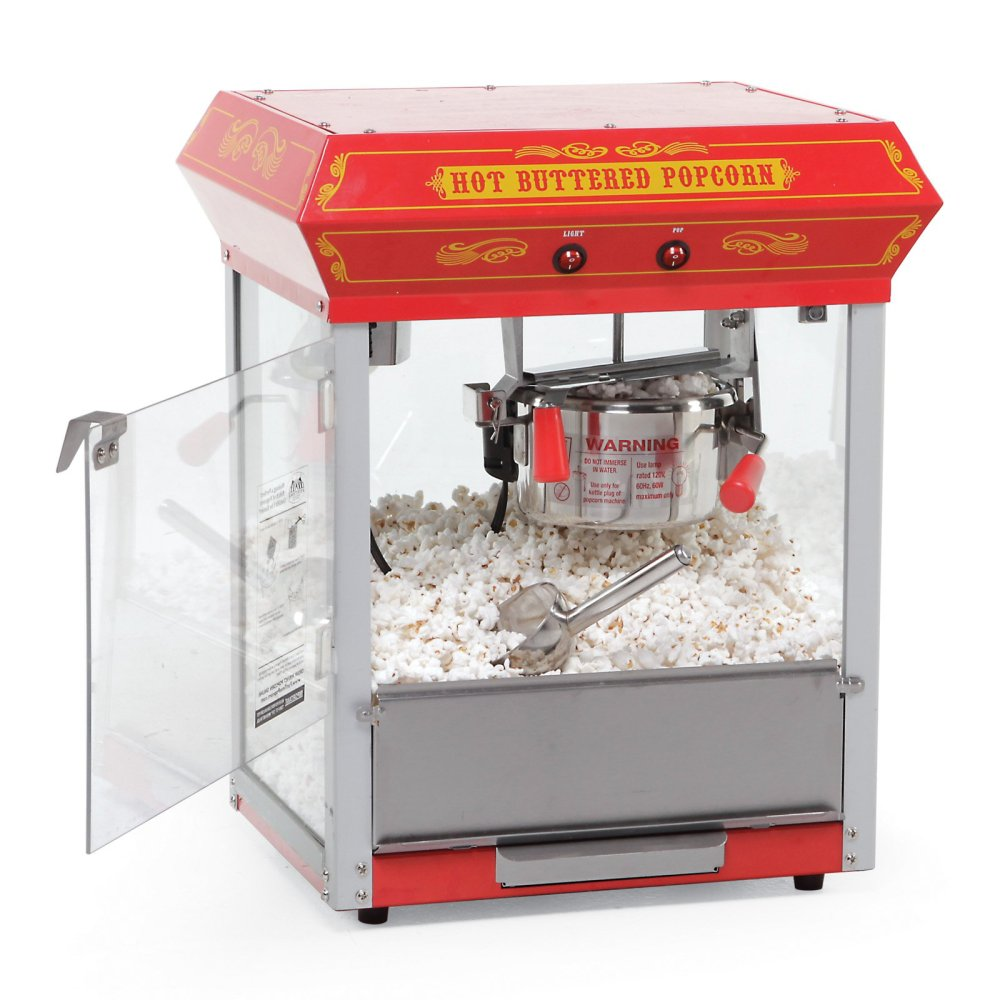 medium resolution of funtime 4 oz theater style hot oil popcorn maker machine black walmart com