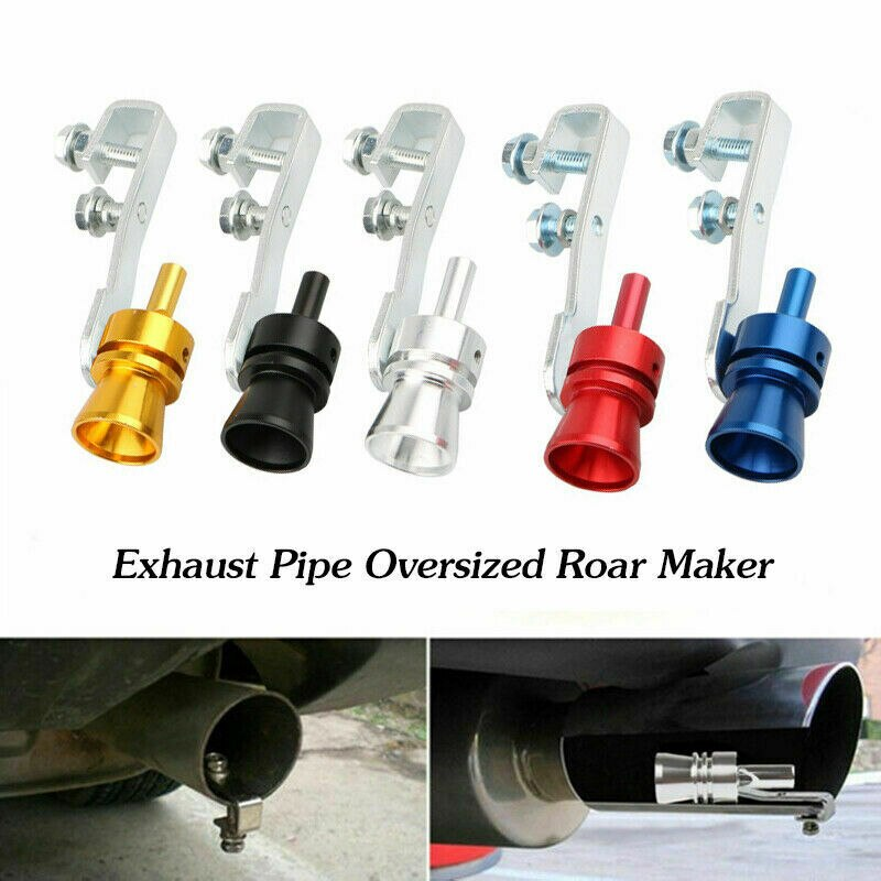 turbo sound maker tip exhaust pipe oversized roar maker car auto exhaust pipe loud whistle turbo sound maker pipe whistle blow off valve