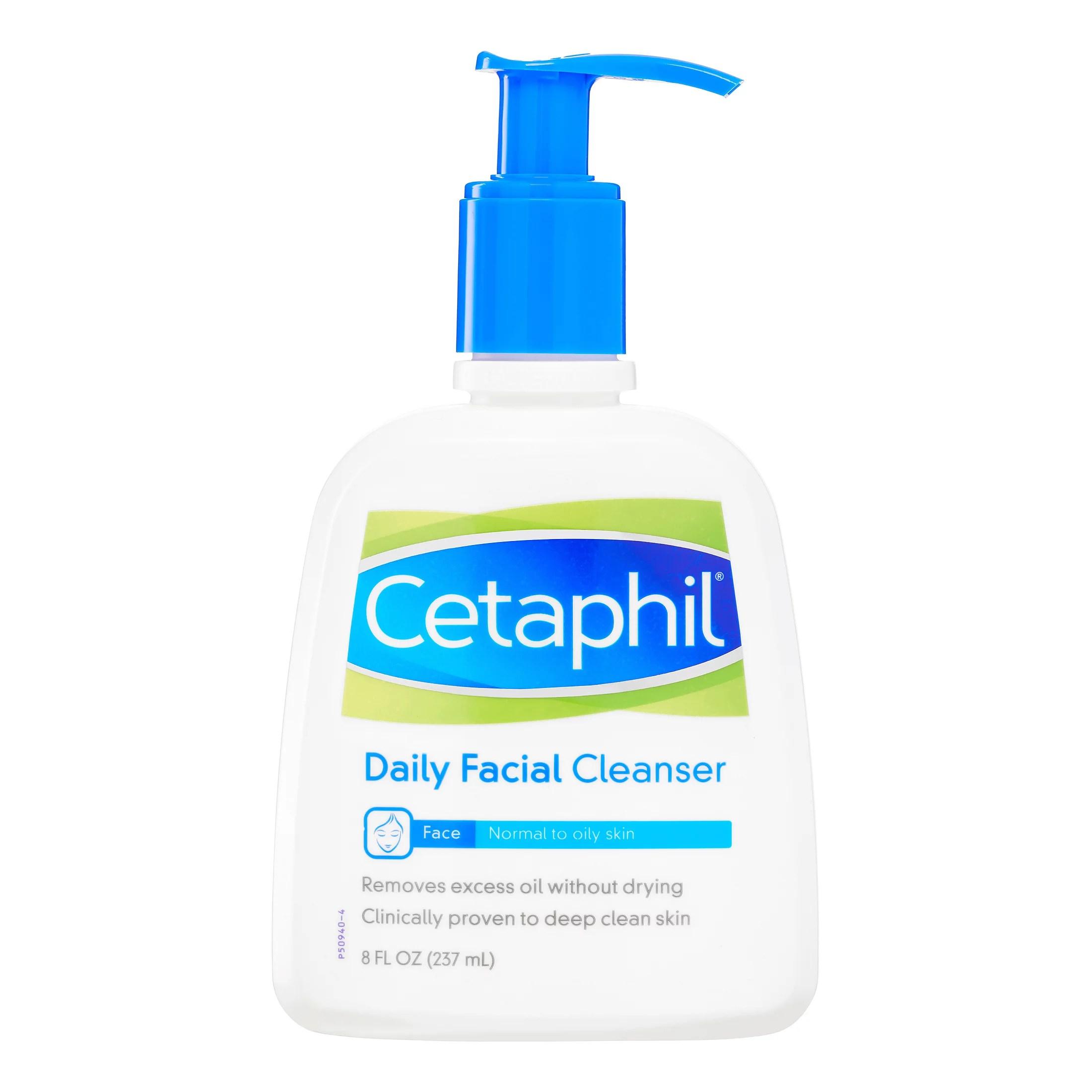 Cetaphil Daily Facial Cleanser 8 Fl Oz - Walmart.com ...
