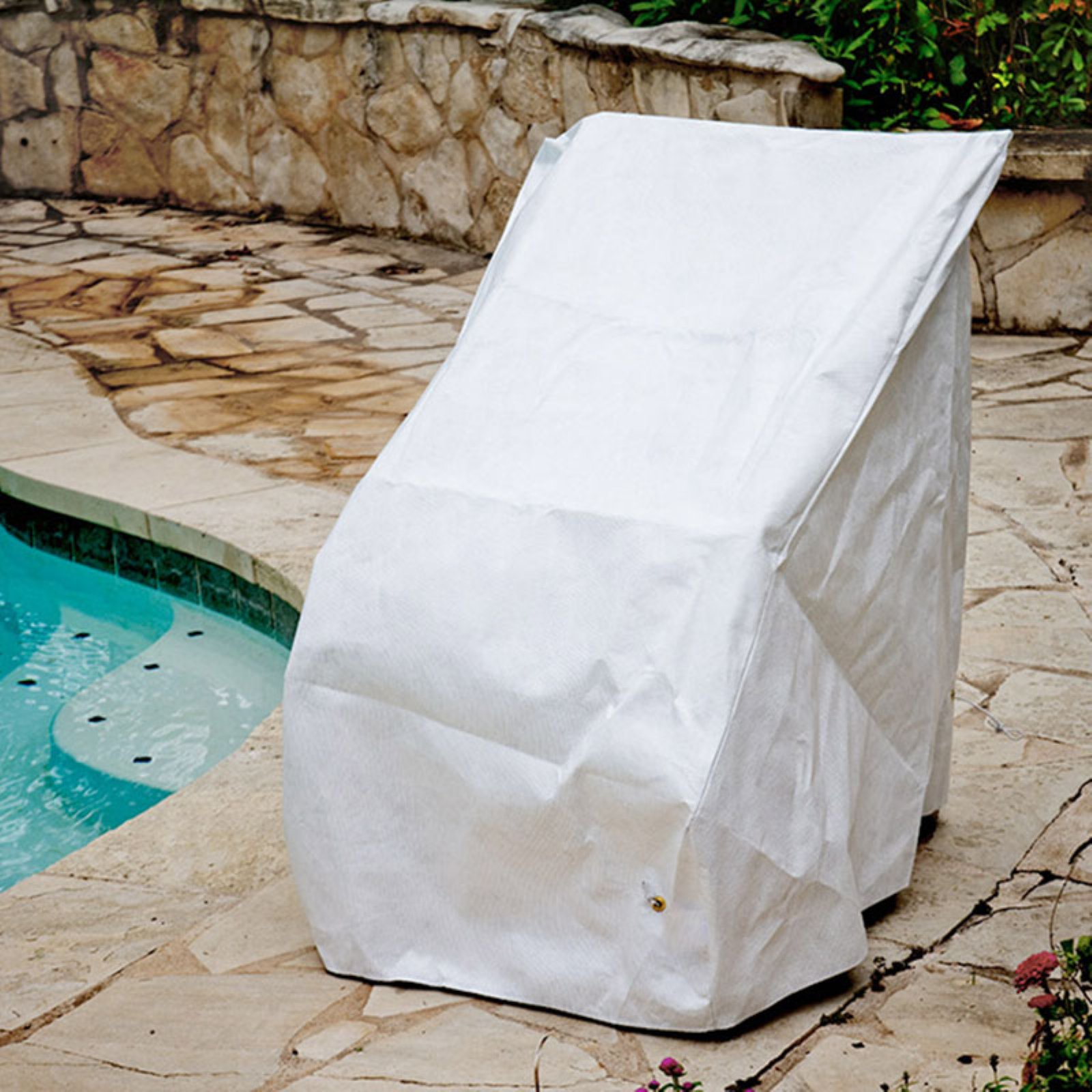 high back chair covers for sale upholstered accent chairs koverroos dupont tyvek white cover walmart com