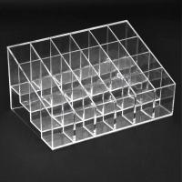 Yaheetech 24 Clear Acrylic Lipstick Holder Display Stand ...